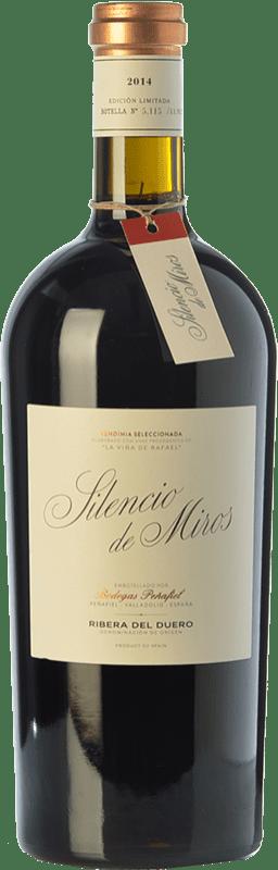 39,95 € Envío gratis | Vino tinto Peñafiel Silencio de Miros Joven D.O. Ribera del Duero Castilla y León España Tempranillo Botella 75 cl