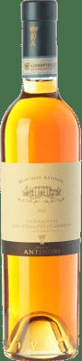 32,95 € Free Shipping | Sweet wine Pèppoli Marchesi Antinori D.O.C. Vin Santo del Chianti Classico Tuscany Italy Malvasía, Trebbiano Toscano Half Bottle 50 cl