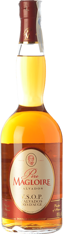 29,95 € Free Shipping | Calvados Père Magloire V.S.O.P. Very Superior Old Pale Reserva I.G.P. Calvados Pays d'Auge France Bottle 70 cl