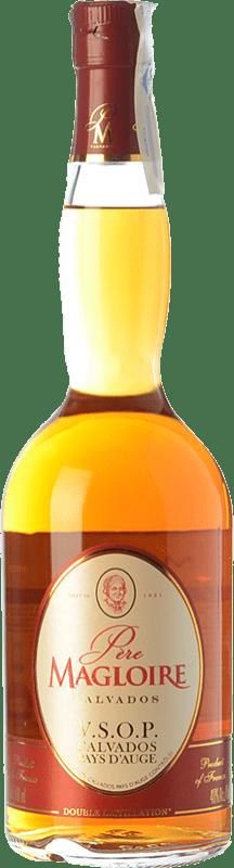 29,95 € Envío gratis | Calvados Père Magloire V.S.O.P. Very Superior Old Pale Reserva I.G.P. Calvados Pays d'Auge Francia Botella 70 cl