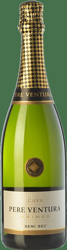 17,95 € | White sparkling Pere Ventura Primer Semi Sec D.O. Cava Catalonia Spain Macabeo, Xarel·lo, Parellada Bottle 75 cl