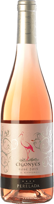 8,95 € Envoi gratuit   Vin rose Perelada Cigonyes Rosé D.O. Empordà Catalogne Espagne Merlot, Grenache Bouteille 75 cl