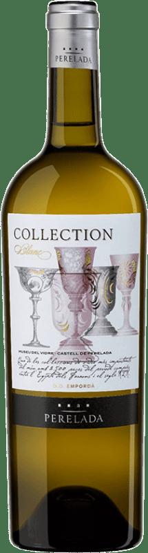 11,95 € 免费送货   白酒 Perelada Collection Blanc Crianza D.O. Empordà 加泰罗尼亚 西班牙 Chardonnay, Sauvignon White 瓶子 75 cl