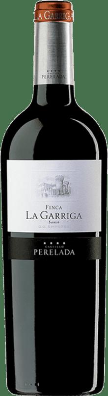 16,95 € | Red wine Perelada Finca La Garriga Crianza D.O. Empordà Catalonia Spain Carignan Bottle 75 cl