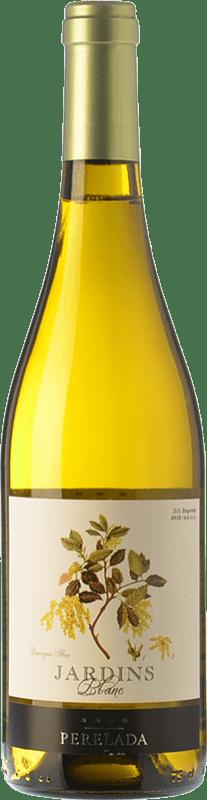 5,95 € Free Shipping | White wine Perelada Jardins Blanc Joven D.O. Empordà Catalonia Spain Grenache White, Macabeo, Sauvignon White Bottle 75 cl