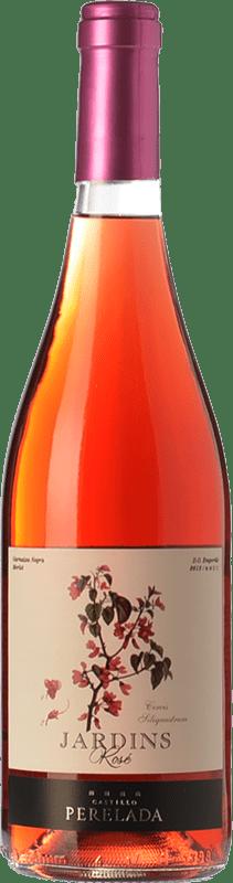 6,95 € | Rosé wine Perelada Jardins Rosat Joven D.O. Empordà Catalonia Spain Merlot, Grenache Bottle 75 cl