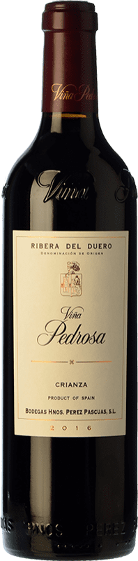 21,95 € Envoi gratuit | Vin rouge Pérez Pascuas Viña Pedrosa Crianza D.O. Ribera del Duero Castille et Leon Espagne Tempranillo Bouteille 75 cl