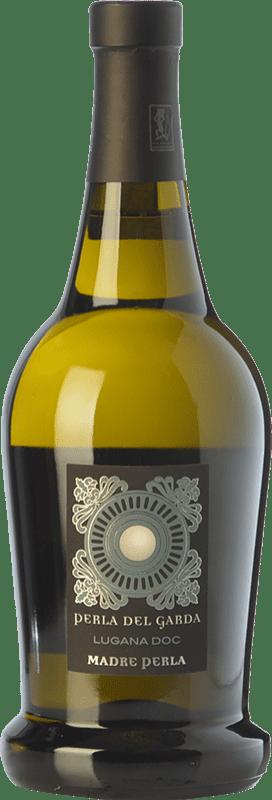 21,95 € Free Shipping | White wine Perla del Garda Madre Perla D.O.C. Lugana Lombardia Italy Trebbiano di Lugana Bottle 75 cl