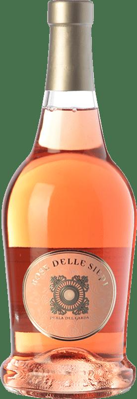 11,95 € Free Shipping | Rosé wine Perla del Garda Rose delle Siepi Italy Rebo Bottle 75 cl