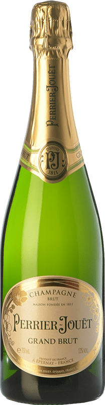 53,95 € | White sparkling Perrier-Jouët Grand Brut Reserva A.O.C. Champagne Champagne France Pinot Black, Chardonnay, Pinot Meunier Bottle 75 cl