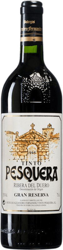 132,95 € | Red wine Pesquera Gran Reserva 1995 D.O. Ribera del Duero Castilla y León Spain Tempranillo Bottle 75 cl