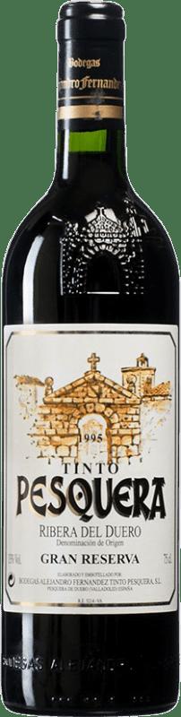 103,95 € Envoi gratuit | Vin rouge Pesquera Gran Reserva 1995 D.O. Ribera del Duero Castille et Leon Espagne Tempranillo Bouteille 75 cl