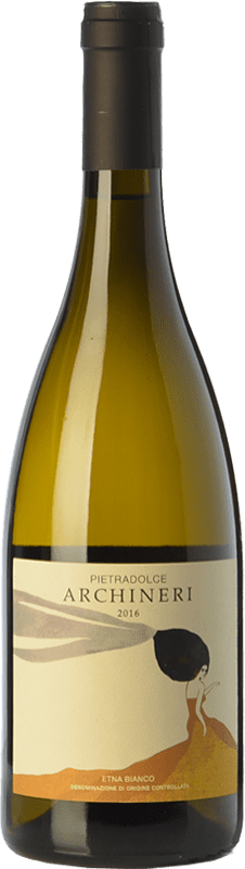 49,95 € Free Shipping | White wine Pietradolce Archineri Bianco D.O.C. Etna Sicily Italy Carricante Bottle 75 cl