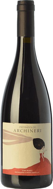 42,95 € | Red wine Pietradolce Archineri Rosso D.O.C. Etna Sicily Italy Nerello Mascalese Bottle 75 cl
