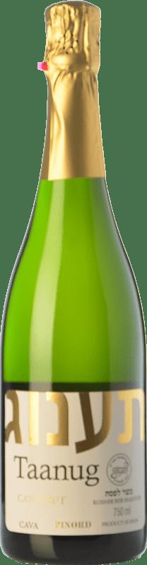 9,95 € Free Shipping | White sparkling Pinord Taanug Brut D.O. Cava Catalonia Spain Macabeo, Xarel·lo, Parellada Bottle 75 cl