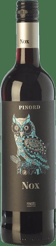 5,95 € Free Shipping | Red wine Pinord NOX Misterio Joven D.O. Penedès Catalonia Spain Tempranillo, Merlot, Cabernet Sauvignon Bottle 75 cl