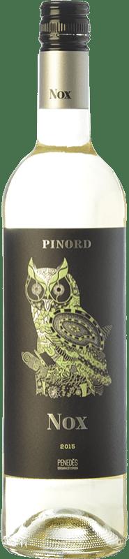 5,95 € Free Shipping | White wine Pinord NOX Nieve Joven D.O. Penedès Catalonia Spain Muscatel, Macabeo, Xarel·lo, Parellada Bottle 75 cl