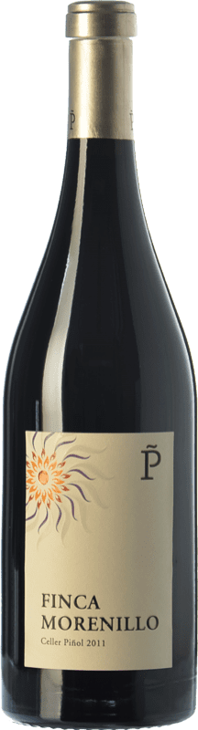 39,95 € Envío gratis | Vino tinto Piñol Finca Vinyes Velles Crianza D.O. Terra Alta Cataluña España Morenillo Botella 75 cl