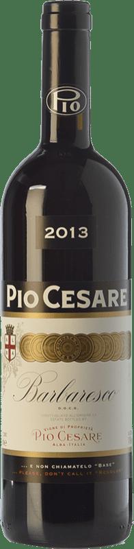 75,95 € 免费送货   红酒 Pio Cesare D.O.C.G. Barbaresco 皮埃蒙特 意大利 Nebbiolo 瓶子 75 cl
