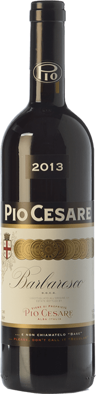 75,95 € Free Shipping | Red wine Pio Cesare D.O.C.G. Barbaresco Piemonte Italy Nebbiolo Bottle 75 cl