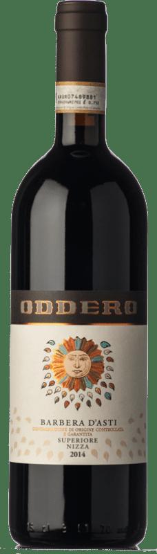 19,95 € Free Shipping | Red wine Oddero Superiore Nizza D.O.C. Barbera d'Asti Piemonte Italy Barbera Bottle 75 cl