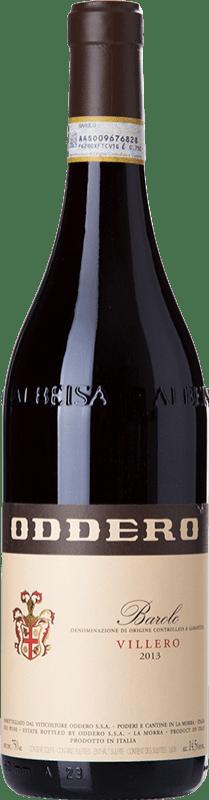 49,95 € Free Shipping | Red wine Oddero Villero D.O.C.G. Barolo Piemonte Italy Nebbiolo Bottle 75 cl