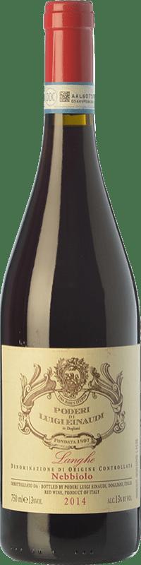 19,95 € | Red wine Einaudi D.O.C. Langhe Piemonte Italy Nebbiolo Bottle 75 cl