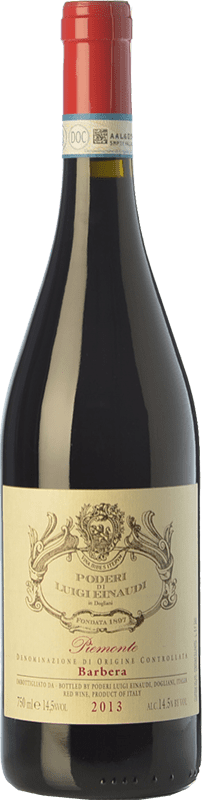 14,95 € Free Shipping | Red wine Einaudi D.O.C. Piedmont Piemonte Italy Barbera Bottle 75 cl