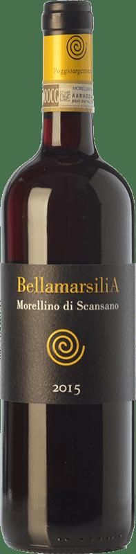 9,95 € Free Shipping | Red wine Poggio Argentiera Bellamarsilia D.O.C.G. Morellino di Scansano Tuscany Italy Sangiovese, Ciliegiolo Bottle 75 cl
