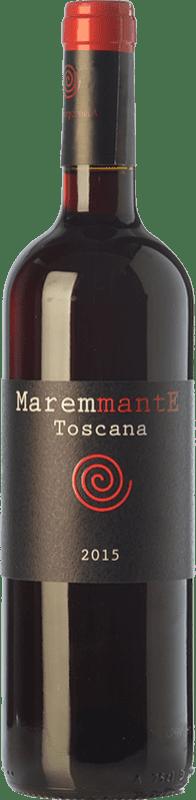 8,95 € Free Shipping | Red wine Poggio Argentiera Maremmante I.G.T. Toscana Tuscany Italy Syrah, Cabernet Franc Bottle 75 cl