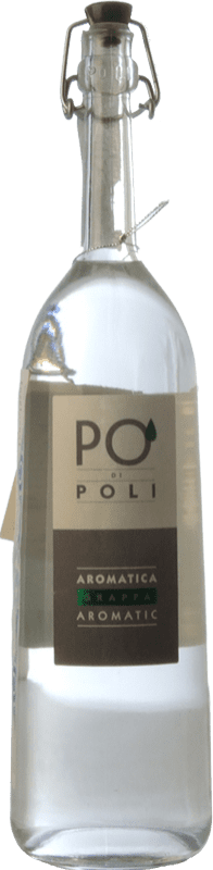 41,95 € Envío gratis | Grappa Poli Traminer Veneto Italia Botella 70 cl