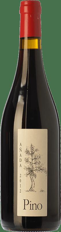 29,95 € Envío gratis | Vino tinto Ponce J. Antonio Pino Crianza D.O. Manchuela Castilla la Mancha España Bobal Botella 75 cl
