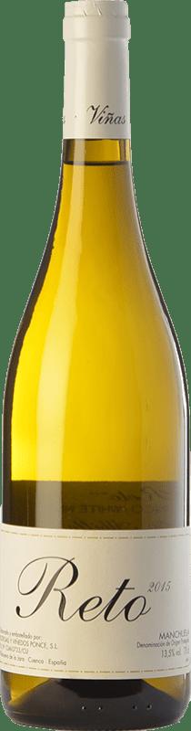 25,95 € Free Shipping | White wine Ponce Reto Crianza D.O. Manchuela Castilla la Mancha Spain Albilla de Manchuela Bottle 75 cl