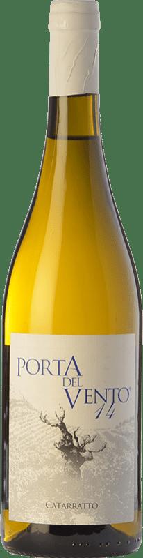 19,95 € Free Shipping | White wine Porta del Vento I.G.T. Terre Siciliane Sicily Italy Catarratto Bottle 75 cl