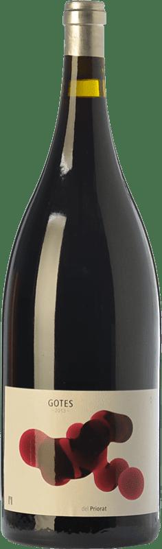 31,95 € Envío gratis | Vino tinto Portal del Priorat Gotes Crianza D.O.Ca. Priorat Cataluña España Garnacha, Cabernet Sauvignon, Cariñena Botella Mágnum 1,5 L