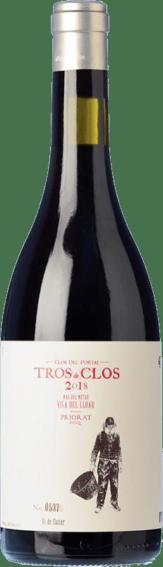 69,95 € Envío gratis | Vino tinto Portal del Priorat Tros de Clos Crianza D.O.Ca. Priorat Cataluña España Cariñena Botella 75 cl