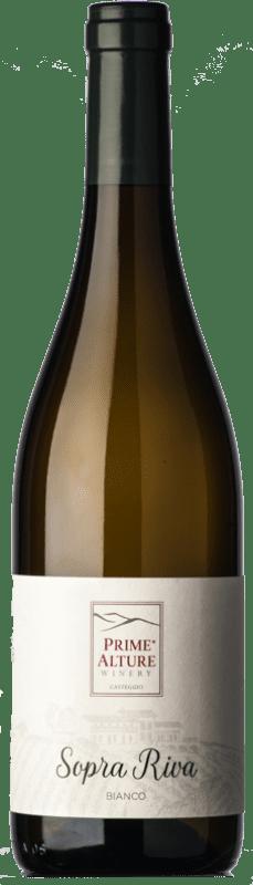 14,95 € Free Shipping | White wine Prime Alture 60&40 Il Bianco I.G.T. Provincia di Pavia Lombardia Italy Chardonnay, Muscatel White Bottle 75 cl