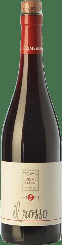9,95 € | Red wine Prime Alture 60&40 Il Rosso I.G.T. Provincia di Pavia Lombardia Italy Barbera, Croatina Bottle 75 cl