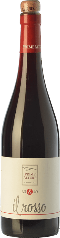 9,95 € Free Shipping | Red wine Prime Alture 60&40 Il Rosso I.G.T. Provincia di Pavia Lombardia Italy Barbera, Croatina Bottle 75 cl