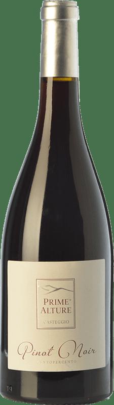 24,95 € Free Shipping | Red wine Prime Alture Pinot Nero Centopercento I.G.T. Provincia di Pavia Lombardia Italy Pinot Black Bottle 75 cl