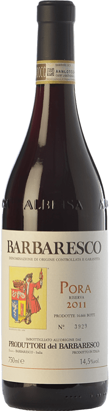 58,95 € | Red wine Produttori del Barbaresco Pora D.O.C.G. Barbaresco Piemonte Italy Nebbiolo Bottle 75 cl