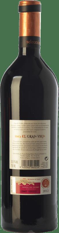 81,95 € Free Shipping | Red wine Protos Selección Finca El Grajo Viejo Crianza D.O. Ribera del Duero Castilla y León Spain Tempranillo Bottle 75 cl