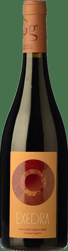 13,95 € 免费送货 | 红酒 Puiggròs Exedra Joven D.O. Catalunya 加泰罗尼亚 西班牙 Grenache 瓶子 75 cl