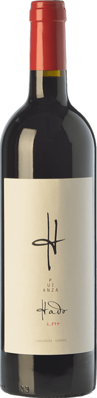 29,95 € Free Shipping | Red wine Pujanza Hado Crianza D.O.Ca. Rioja The Rioja Spain Tempranillo Magnum Bottle 1,5 L