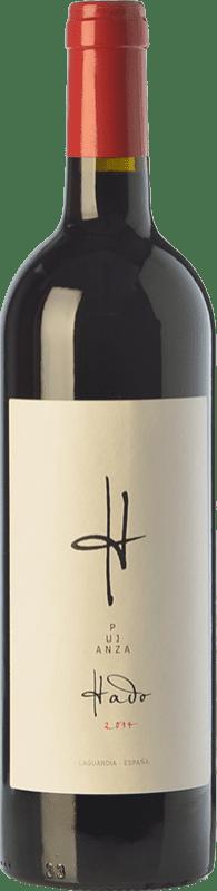 29,95 € Envío gratis | Vino tinto Pujanza Hado Crianza D.O.Ca. Rioja La Rioja España Tempranillo Botella Mágnum 1,5 L