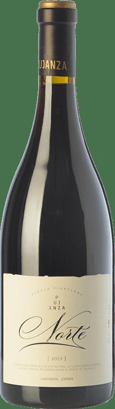 55,95 € Envío gratis | Vino tinto Pujanza Norte Crianza D.O.Ca. Rioja La Rioja España Tempranillo Botella 75 cl