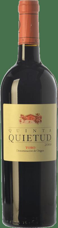 26,95 € Envoi gratuit | Vin rouge Quinta de la Quietud Crianza D.O. Toro Castille et Leon Espagne Tinta de Toro Bouteille 75 cl