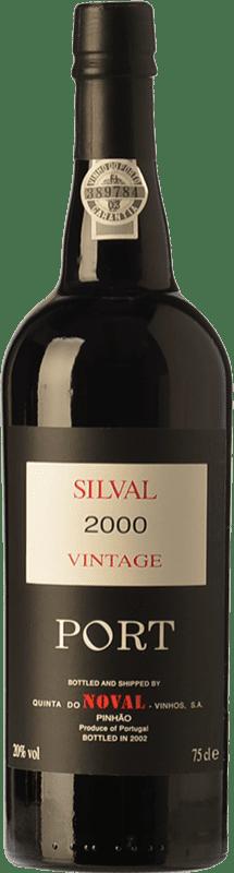 59,95 € Free Shipping | Fortified wine Quinta do Noval Vintage Port Silval 2000 I.G. Porto Porto Portugal Touriga Franca, Touriga Nacional, Tinta Roriz, Tinta Barroca Bottle 75 cl