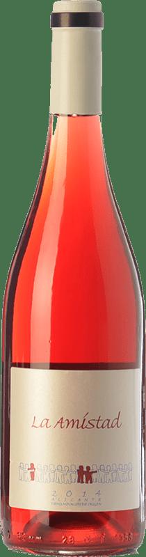 12,95 € 免费送货 | 红酒 Bernabé La Amistad Joven D.O. Alicante 巴伦西亚社区 西班牙 Rojal 瓶子 75 cl
