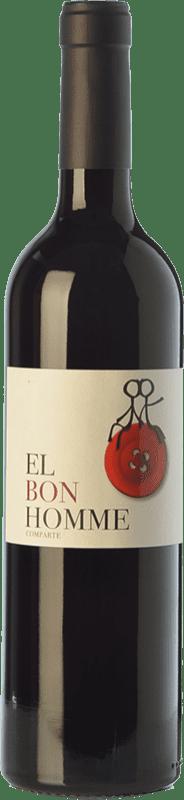 7,95 € 免费送货 | 红酒 Rafael Cambra El Bon Homme Joven D.O. Valencia 巴伦西亚社区 西班牙 Cabernet Sauvignon, Monastrell 瓶子 75 cl